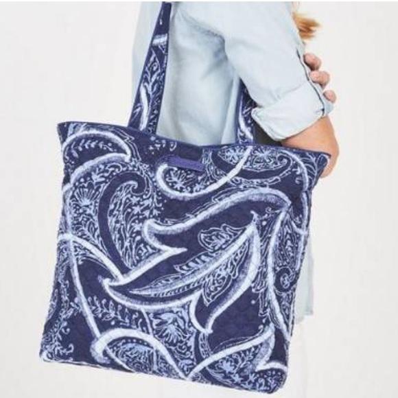 105b853073 NWOT Vera Bradley Iconic Tote Bag Indio. M 5c6d7de52beb790cf6db7539